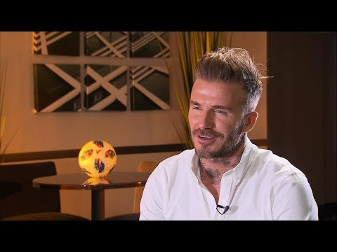 David Beckham opens up about coming back to the U.S.
