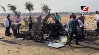 اللقطات الأولى من «انفجار مدينة نصر»  | المصري اليوم