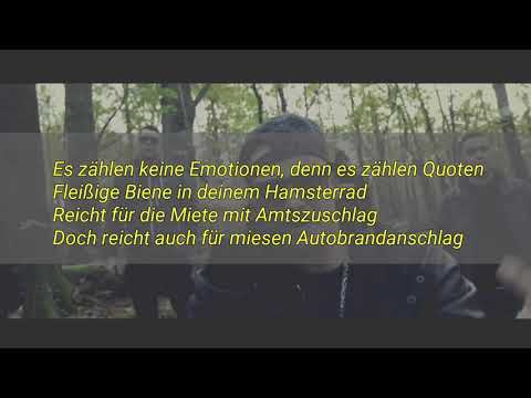 ▶PTK - Hamsterrad (feat. Herzog, Sadi Gent) - Lyrics Video - [HD]