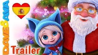 🎅Santa – Trailer | Villancicos de Navidad en Español | Canciones de Navidad de Dave y Ava 🎅