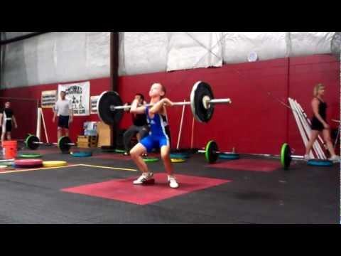 Kyle Holman | C&J #2 | Cincinnati Weightlifting Competition | 2012.07.14