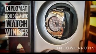 diplomat watch winder review automatic double watch winder