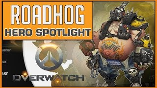 Overwatch: Roadhog Hero Spotlight (Abilities & Gameplay)