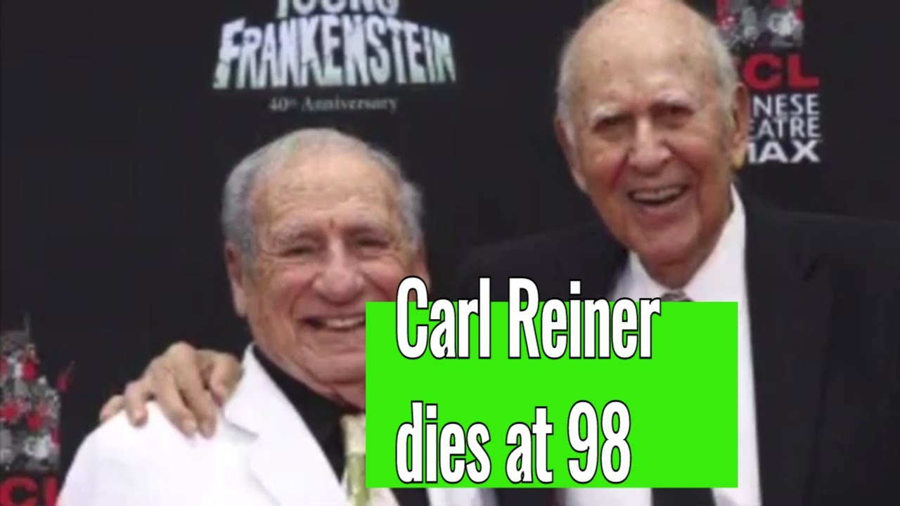 Comedy legend Carl Reiner, of 'The Dick Van Dyke Show' and 'The ...