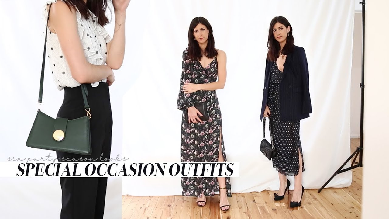 [VIDEO] - What to Wear for Special Occasions - Spring Racing, Weddings, Christmas Party Outfits | Mademoiselle 1