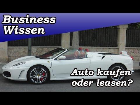 Auto kaufen oder leasen? Der Leasing-Mythos!