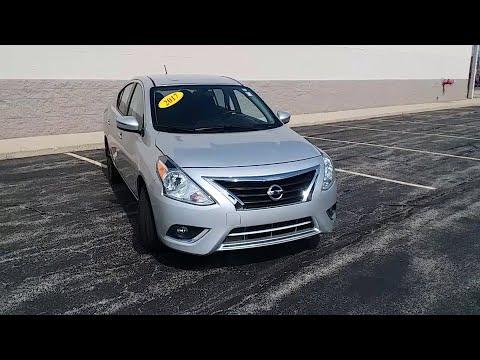 2017 Nissan Versa Niles, Skokie, Chicago, Evanston, Park Ridge, IL SP10526