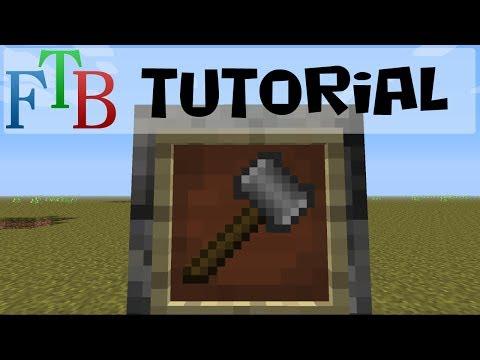 Tinker's Construct Tutorial - Designing The Hammer (FTB 1.6.4)