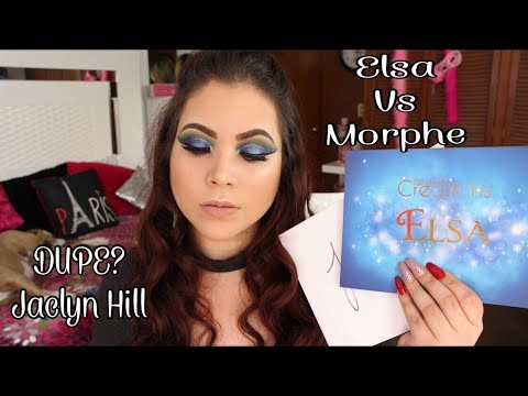 ELSA BEAUTY CREATIONS VS MORPHE X JACLYN HILL (¿DUPE?) ♥ FERIBARUE