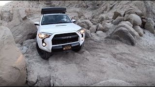 5th Gen 4runner TRD PRO in Sandstone Canyon, Anza Borrego CA 01.15.19