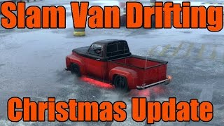 GTA 5   Xbox One/PS4   Christmas Update   Slam Van Drifting