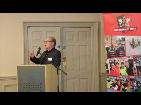 City Community Trust launch: Ade Edmondson   Exeter City Football Club