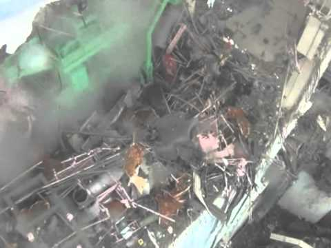TEPCO video showing damage to Japan reactor