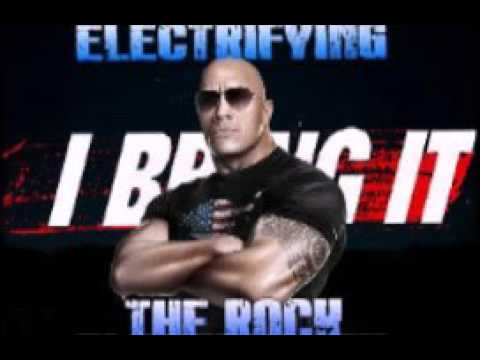 THE ROCK THEME SONG WITH AE AND CROWD