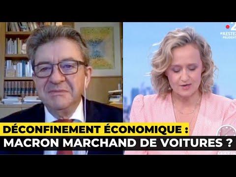 Déconfinement économique : Macron marchand de voitures ?