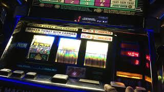 Three triple diamond slot play w/line hit !!!