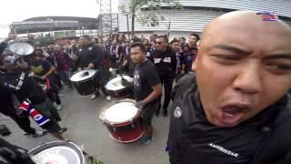 Warming up Chant for Away Days Bangkok 2016 part 1