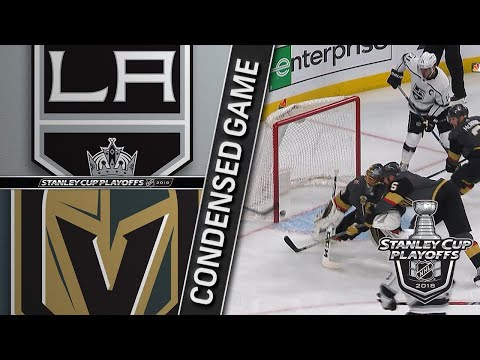 04/11/18 R1, Gm1: Kings @ Golden Knights