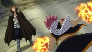 Fairy Tail Natsu vs Gildarts (English Dub)