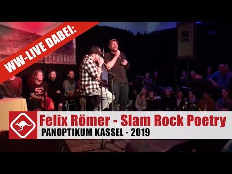 Felix Römer beim Slam Rock Poetry Slam im Panoptikum