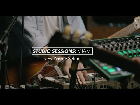 Studio Sessions: Miami with Private School