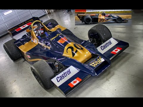 1977 Walter Wolf Racing WR1/Ford Cosworth DFV Engine