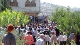 جانب من مراسيم تشييع ودفن المرحوم بإذن الله عماد فتحي جوابره 