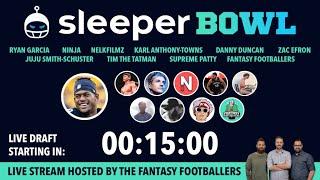 JuJu's Fantasy Football Draft w/ Ninja, Zac Efron, Nelk, & More!