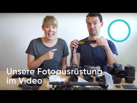 Unsere Fotoausrüstung: Das perfekte Fotoequipment für die Reise.