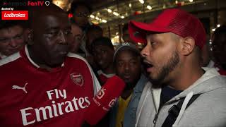 Arsenal 4-3 Leicester City | Laca-Bloodclaat-Zette Rudeboy!! (Troopz)