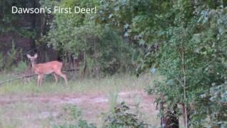 Dawson's First Deer - 9/17/2016