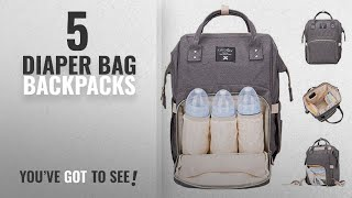 Video Top 10 Diaper Bag Backpacks [2018 Best Sellers]: Diaper Bag Oxford Multi-Function Backpack download MP3, 3GP, MP4, WEBM, AVI, FLV Mei 2018