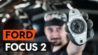 как заменить заднюю опору амортизатора на FORD FOCUS 2 (DA)  ВИДЕОУРОК AUTODOC