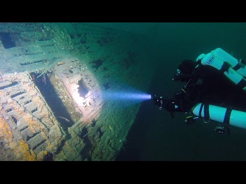 Wreck Diving in Norway: U-711 (Type VIIc U-Boat)
