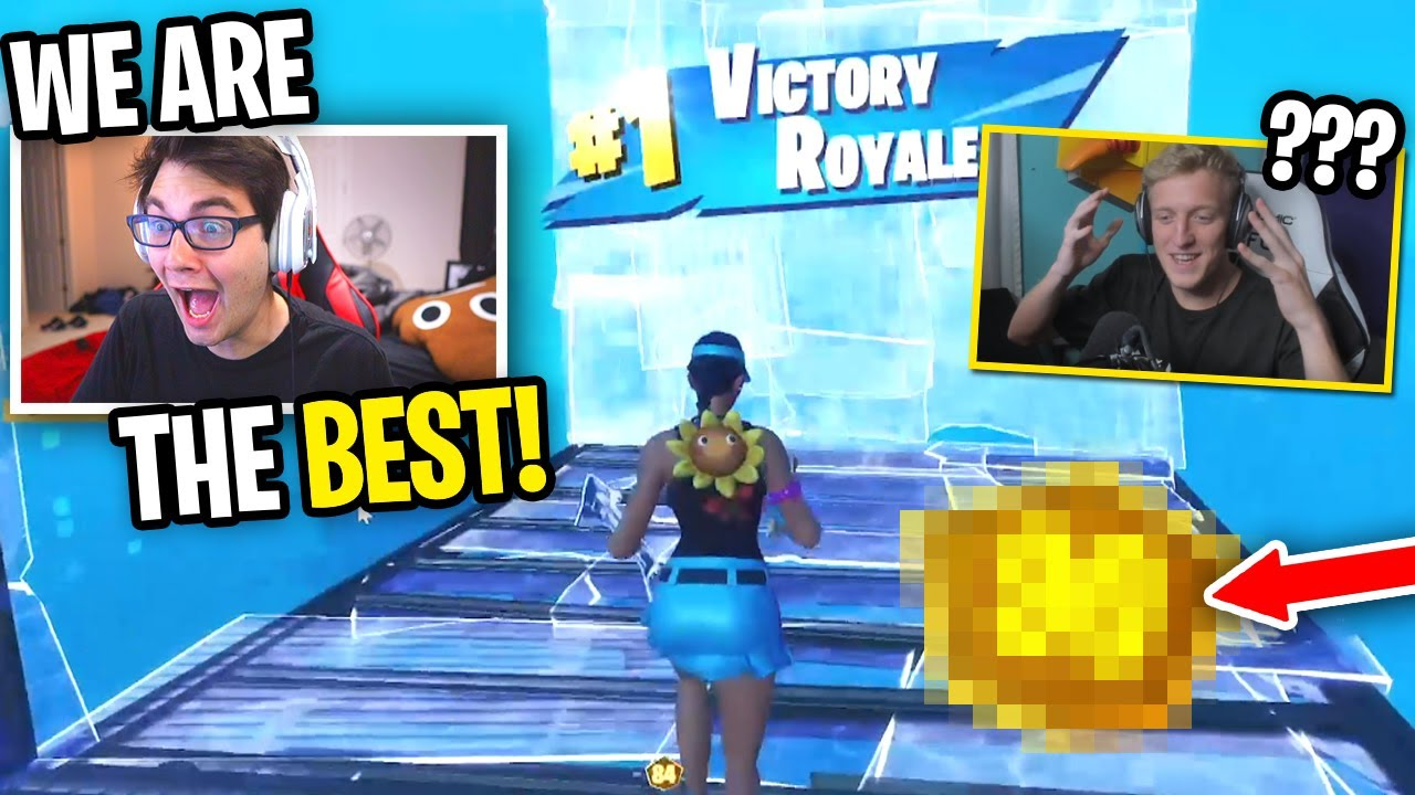 How we WON BACK to BACK against PRO PLAYERS in Fortnite... thumbnail
