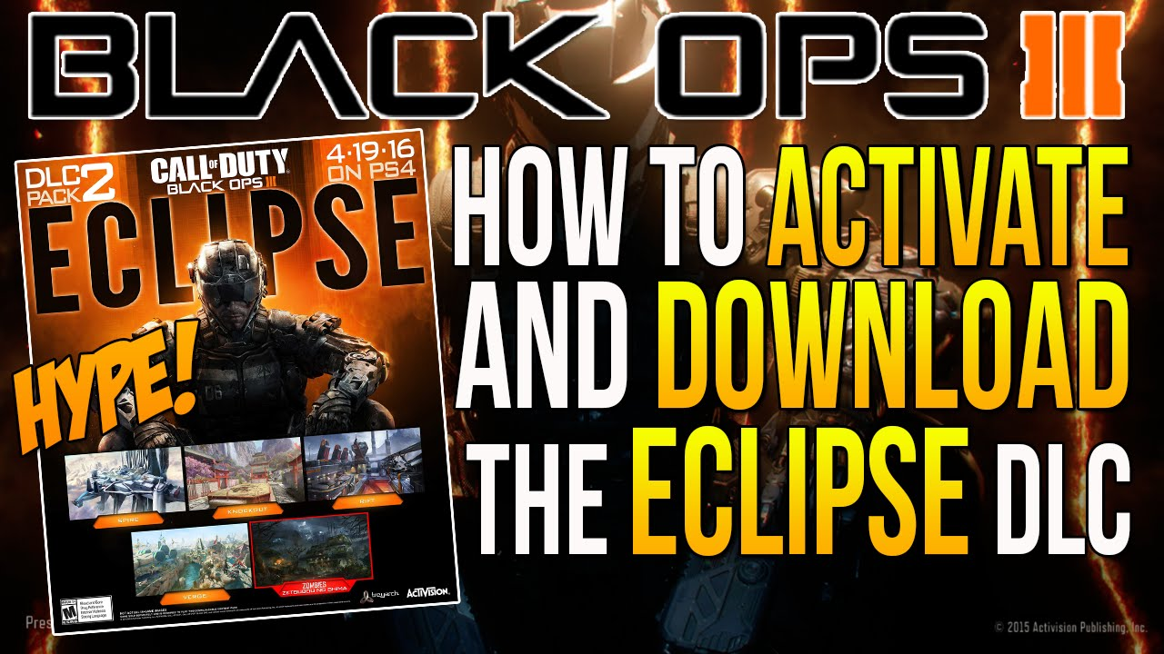 Black Ops 3 How To Activate And Download Bo3 Eclipse Map Pack