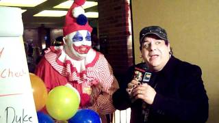 Pogo the Clown gets interviewed