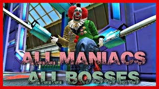 Dead Rising 4 - All Maniacs u0026 All Bosses