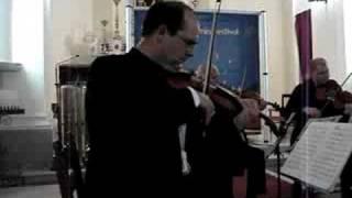 Alexander Kerr plays Brahms Sextet n°1 (excerpt)