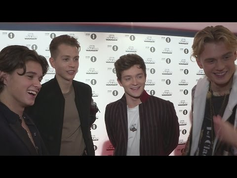 Radio 1 Teen Awards 2016: The Vamps have been busy reading the dictionary!
