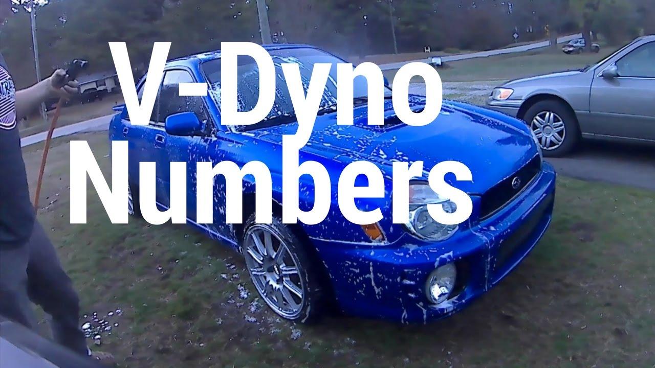 V-Dyno 2002 WRX Ebay Turbo