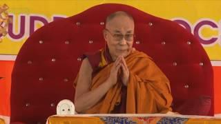 """Далай-лама. Учения по """"Бодхичарья-аватаре"""" в Санкисе. День 3"""
