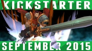 Top 5 Indie Games on Kickstarter - September 2015