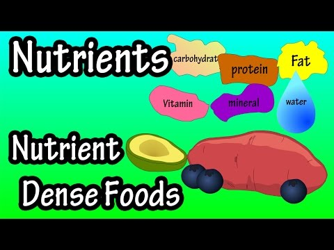 What Are Nutrients - What Is Nutrient Density - What Are Nutrient Dense Foods?