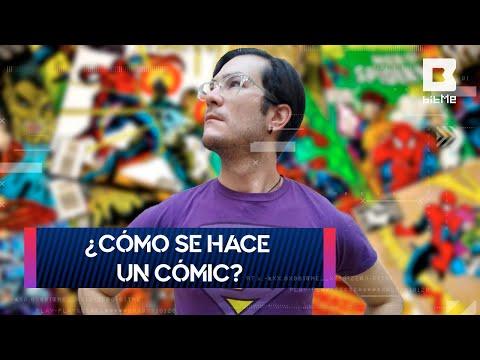 ¿Cómo se hace un cómic paso a paso? | Arte Geek