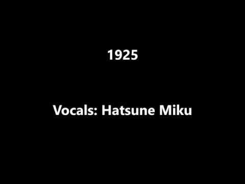 - 1925 - lyrics