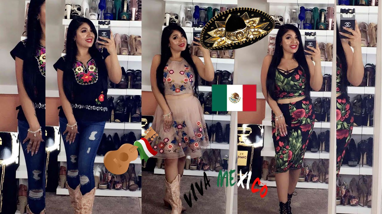 Que Me Pongo Para Una Fiesta Mexicanaideas De Outfits 15 De Septiembre