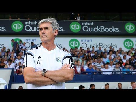 Alan Irvine previews West Bromwich Albion's Barclays Premier League fixture at Southampton