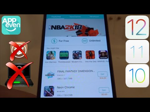 NEW AppEven GET PAID Apps & Hacked Games FREE iOS 11 / 10 / 9 NO Jailbreak NO PC iPhone iPad iPod