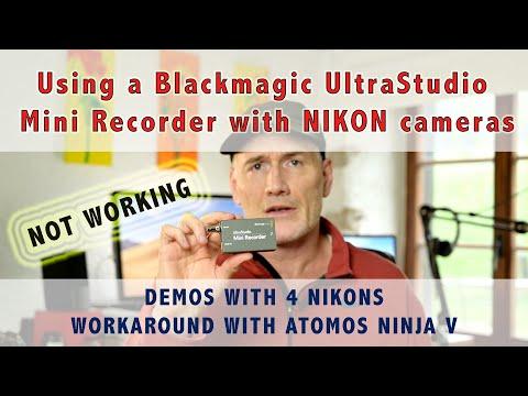 Blackmagic Forum View Topic Ultra Studio Mini Recorder Nikon Hdmi